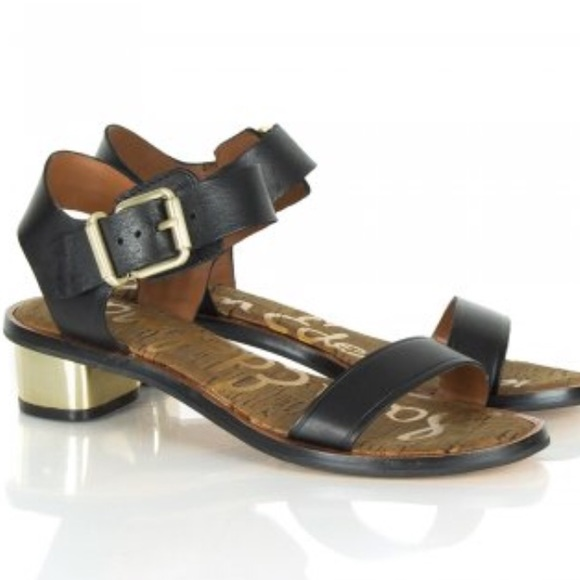 b57e9384027eeb Sam Edelman Trina Leather Strap Sandals. M 5aa879d38290af548c4929bb